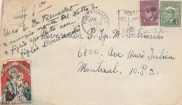 LETTERA 1947 CANADA (TY1247 - Storia Postale