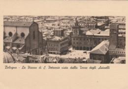 CARTOLINA NON VIAGGIATA PRIMI 900 BOLOGNA PIAZZA S.PETRONIO 1955 (TY1252 - Bologna