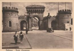 CARTOLINA NON VIAGGIATA PRIMI 900 BOLOGNA PORTA SARAGOZZA 1955 (TY1254 - Bologna