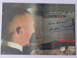 André TURCAT - Signé / Hand Signed / Dédicace Authentique / Autographe - Aviateurs