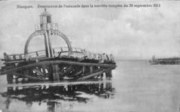 Nieuport - Destruction De L'estacade Dans La Terrible Tempête Du 30 Septembre 1911 (Edit. Fl. Dumon 1912) - Nieuwpoort