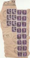 FRAMMENTO DI RACCOMANDATA REPUBBLICA SOCIALE  (TY1423 - 4. 1944-45 Repubblica Sociale