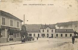 CHAMPAGNOLE- La Gare (état) - Champagnole