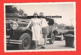 Auto Fiat 522 Cabriolet Old Photo Anni '50 - Automobili