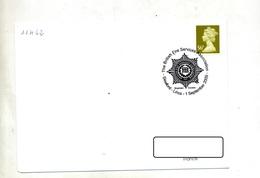 Lettre Cachet Sleaford  Secours Et Incendie Theme Pompier - Machine Stamps (ATM)