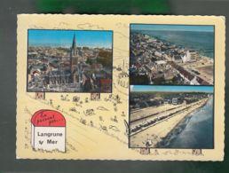 CP (14) En Passant Par ... Langrune-sur-Mer  -  Multi-vues - France