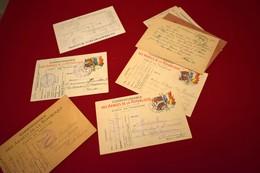 CORRESPONDANCE DE POILU, COMMANDANT,LETTRES  DE FAMILLE - 1914-18