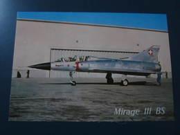 Carte Postale Avion MIRAGE III BS - 1946-....: Ere Moderne