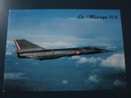 Carte Postale Avion MIRAGE IV A - 1946-....: Ere Moderne