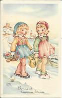 Bonne Et Heureuse Année , 1960 , Illustrateur : Luce André - Autres Illustrateurs