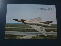 Carte Postale Avion MIRAGE III C - 1946-....: Ere Moderne