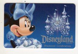 ETATS-UNIS LOS ANGELES PASS DISNEYLAND RESORT De CALIFORNIA ADVENTURE PARK MIMI - Disney