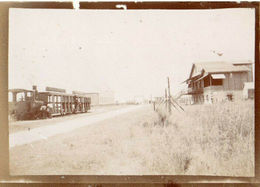 8.Gironde, Royan. Train, Wagons Albuminée 1880/1900 9x6,5 - Trenes