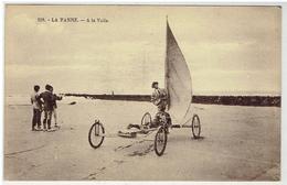 LA PANNE - A La Voile - Edit. Henri Georges N° 218 - De Panne