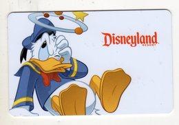 ETATS-UNIS LOS ANGELES PASS DISNEYLAND RESORT PARK HOPPER DONALD - Disney