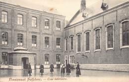 Zaffelare Lochristi  Pensionnat Des Soeurs De Charité   Cour Intérieure   ( Lichte Plooien Aan 1 Zijkant )     M 2098 - Lochristi