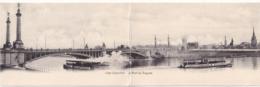 CPA écrite - Belgique - Liège - Exposition - Le Pont De Fragnée - Carte Panoramique - Luik