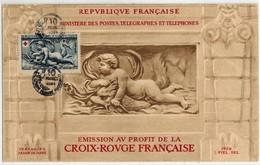 Cp CROIX-ROUGE, Avec Obl. Monnaie 1952 ? - Marcophilie (Lettres)
