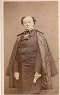 CDV St Georges Dédicacée à La Comtesse De Lagrange. Photo Carjat. 1880 - Ancianas (antes De 1900)