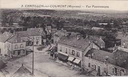 53. CHATILLON SUR COLMONT.. CPA  .RARETÉ.. VUE PANORAMIQUE + TEXTE - Frankreich