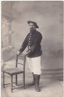 Chasseur Alpin En Pose : Régt. à Définir : ( Campagne De Tunisie 1914 - 1915 : Gabes 1915 ) - Guerre 1914-18