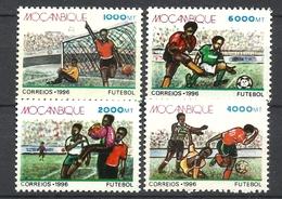 MOZAMBIQUE  1996 FOOTBALL  SET MNH - Mosambik