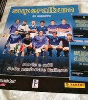 SUPER ALBUM In Azzurro Album Vuoto+n 1,2 Bustine Con Figurine Calciatori Panini 2006 - Italian Edition