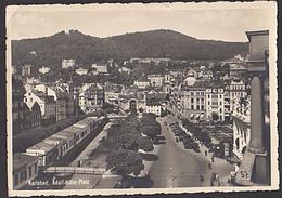 Ak KARLSBAD Adolf-Hitler-Platz 1939 Fotokarte - Sudeten