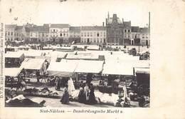 Sint-Niklaas  St-Nicolas  Donderdagse Markt 2   Marktkramen      M 2142 - Sint-Niklaas