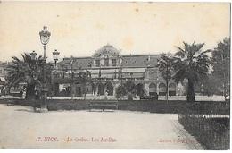 ! - France - Nice - Le Casino, Les Jardins - 2 Scans - Monuments, édifices