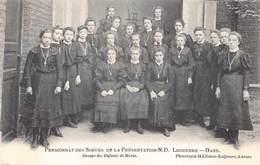 Gent Gand  Ledeberg   Pensionnat Des Soeurs De La Présentation Notre Dame Ledeberg Groepsfoto       M 2160 - Gent