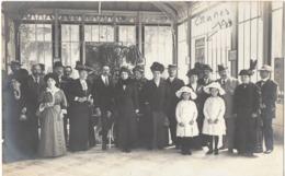 MARTIGNY LES BAINS 1913 - Carte Photo - Thermes - France