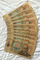 1 Lot De 10 Billets De 10 Korun. Tchecoslovaquie. 1986. - Cecoslovacchia