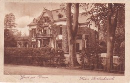 237816Doorn, Huize Berkenheuvel(poststempel 1912)  (linksonder Een Vouw) - Doorn