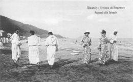 Alassio Bagnanti Alla Spiaggia - Savona