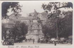 250744Genova,  Place De La Gare Centrale (FOTO KAART) - Genova (Genoa)