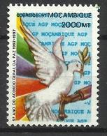MOZAMBIQUE  1997 PEACE AGREEMENT MNH - Mozambique