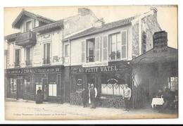 LE PLESSIS ROBINSON (92) Devanture Restaurant Au Petit Vatel 74 Rue De Malabry - Le Plessis Robinson