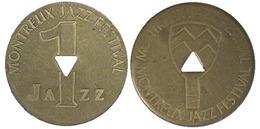 02158 GETTONE TOKEN JETON SVIZZERA SWISSE SWITZERLAND MONTREUX JAZZ FESTIVAL 1 - Unclassified