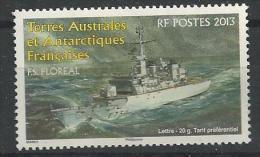 TAAF 2013 Bateau: Le Floréal - Terres Australes Et Antarctiques Françaises (TAAF)