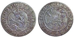 02800 GETTONE TOKEN JETON NORVEGIA NORWAY REPRO COIN CHRISTIANUS IIII DG DANI NOR REX TALER - Unclassified