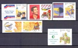 2996/3000 EUROPESE POST ONGETAND POSTFRIS** 2001 - Belgium