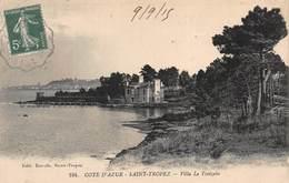 CPA COTE D'AZUR - SAINT-TROPEZ - Villa Le Treizain - Saint-Tropez