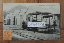 NOUMEA - NOUVELLE CALEDONIE- VUE PRISE DE KOUAOUA - TRAIN - CHEMIN DE FER - ANIMATION - BELLE CARTE - Nouvelle Calédonie