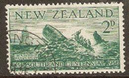 New Zealand  1956  SG  752   2d Southland    Fine Used - Oblitérés