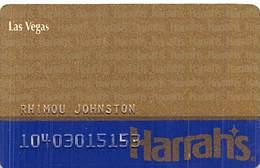 Harrah's Casino Las Vegas - 7th Issue Slot Card - Casino Cards