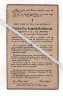 GERARD-EMIEL ROBBERECHTS ° CORBEEK-LOO 1912 + PARK-HEVERLEE1929 - Images Religieuses