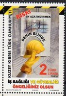 TURKISH CYPRUS, 2018, MNH, OCCUATIONAL SAFETY, HEALTH, 1v - Other