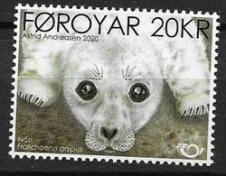 FAROES, 2020, NORDEN, FAUNA, SEALS, SEAL PUP,1v - Stamps