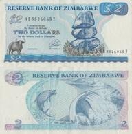 Zimbabwe / 2 Dollars / 1994 / P-1(c) / UNC - Zimbabwe